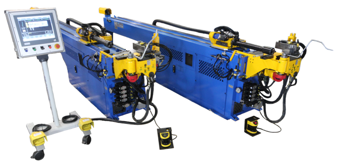 CNC18TDRE CNC Tube Bending Machine, copper tube bender, HVAC tube bending, automotive tube bender,