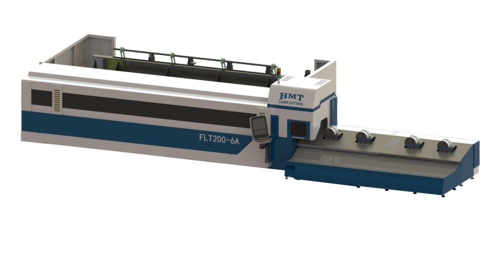 Automatic Laser Tube Cutting Horn Flt200 6a Fiber Tube Laser