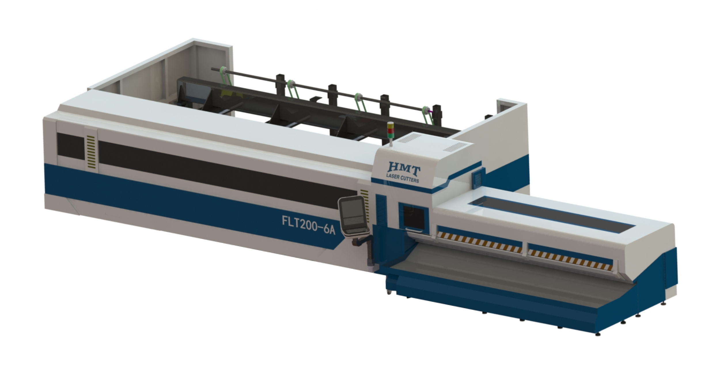 Automatic laser tube cutting machine